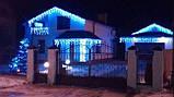 Уличная гирлянда Дюралайт 10 метров (кабель 3 жилы, белая,синяя,красная, зеленая, мульти), фото 4