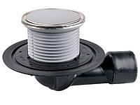 HL80.1R Трап для внутренних помещений с круглой решеткой
