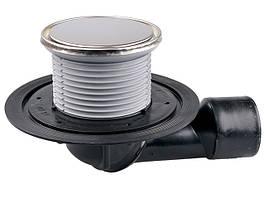 Трап для внутренних помещений Hutterer & Lechner с круглой решеткой DN50/75 HL80.1R