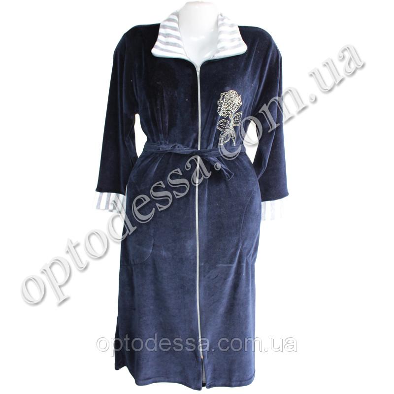 Велюровые халаты норма (50- 60) (vg018)