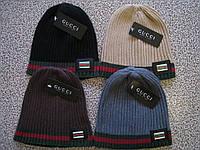 Разные цвета GUCCI шапки вязаные для взрослых и подростков шапка хлопок гуччи., фото 1