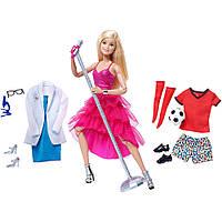 Кукла Барби 22 шарнира с дополнительной одеждой Barbie Made to Move Doll with Fashion Accessories