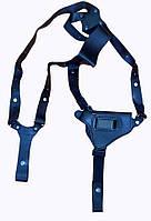 Кобура оперативная кожаная универсальная с кожаным креплением (со скобой) ПМ,Форт12
