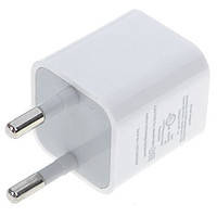 Блок питания USB (сеть) OEM Cube 1.0A 1*USB white 220V
