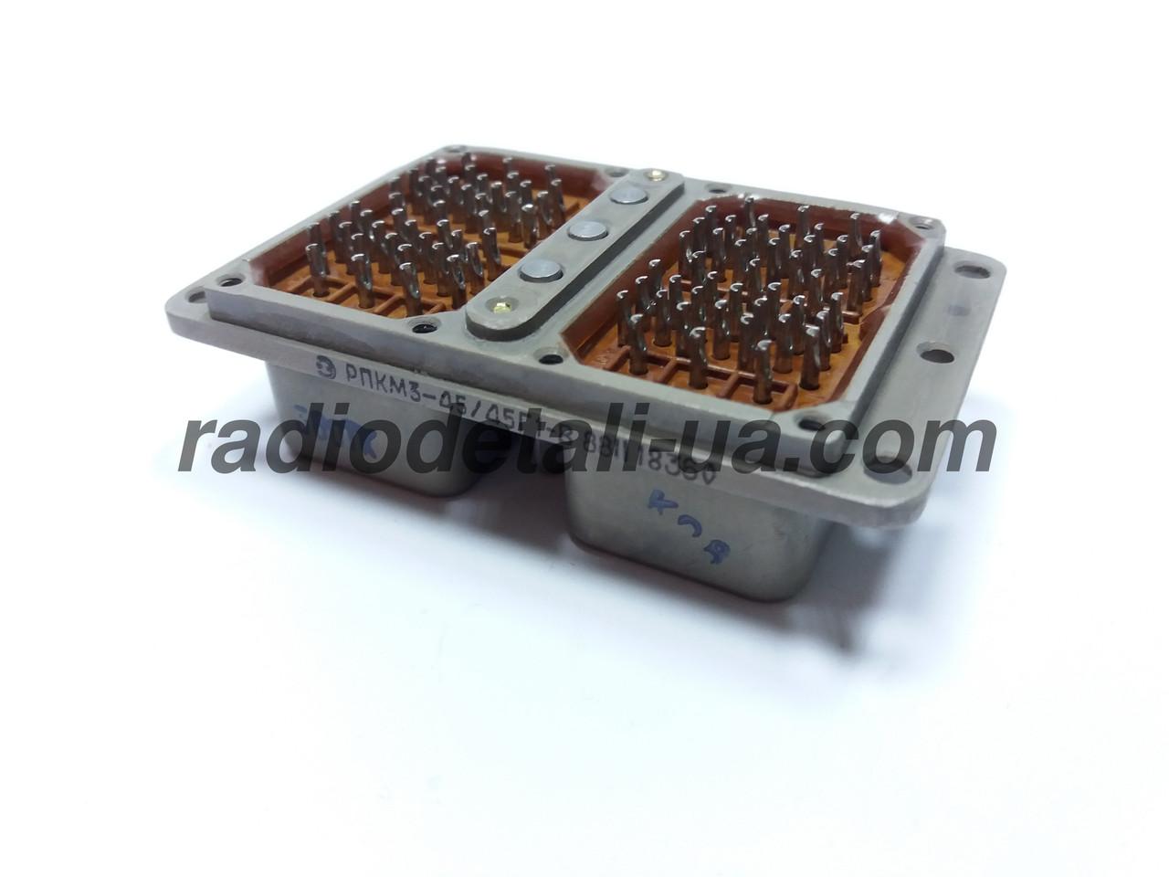 Электрические соединители РПКМ3-45/45Г1-В