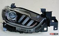 Mazda 6 оптика передняя тюнинг, фары под ксенон стиль Mustang