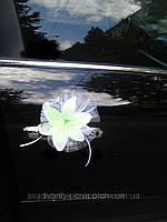 Украшение на свадебную машину Лилии Нежность на присосках