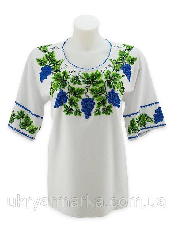 "Вишита бісером блуза ""Виноградна лоза""/ Вышитая бисером блуза  ""Виноградная лоза"""