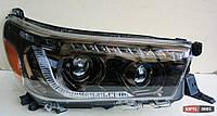Toyota Hilux Revo 2014 оптика передняя тюнинг ДХО/ headlights DRL LED LD