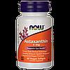 Астаксантин  антиоксидант, Now Foods, Astaxanthin, 4 mg, 60 капсул