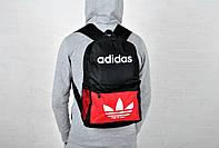 Рюкзак спортивный адидас (Adidas), красный городской