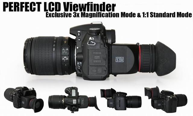 Видоискатель для цифровых камер PRO Foldable Viewfinder 3X LCD