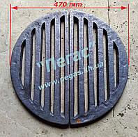 Колосник чугунный (470 мм) печи, котлы, барбекю, мангал, фото 1
