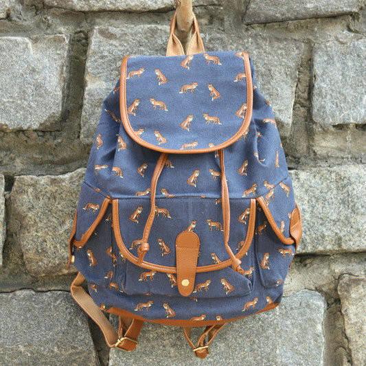 Повседневный рюкзак с принтом