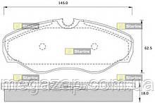 Тормозные колодки передние Opel Vivaro, Nissan Primastar, Renault Trafic 2001-.