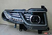 FJ Cruiser оптика передняя черная стиль Evoque restyling