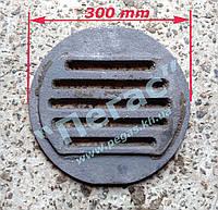 Колосник чугунный титан тандыр, буржуйка, печи 300 мм