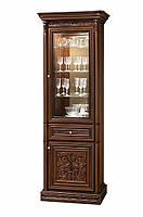 Витрина Тоскана Нова 1-но дверная вариант №2 (Скай) 870х2270х500мм