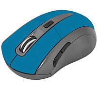 Мышь Defender Accura MM-965 Wireless, Blue USB