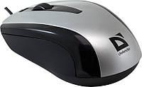 Мышь Defender Optimum MM-140 S, Silver USB