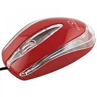 Мышь Esperanza Titanum TM111R Red OPTiC, USB, 1 Wheel, 1000cpi