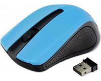 Мышь Gembird MUSW-101-B беспроводная, Blue USB