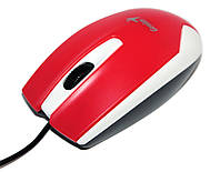 Мышь Genius DX-100X Red USB optical