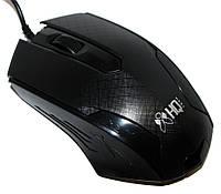 Мышь HQ-Tech HQ-MV223, Black, USB, Optical 800DPI, Box