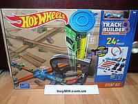Трек Хот Вилс Каскадерские трюки Соедини все треки Hot Wheels Track Builder System Stunt Kit DLF28