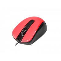 Мышь Maxxtro Mc-325-R оптическая, USB, красная