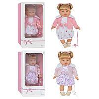 "Кукла ТМ ""ARIAS"", 2 вида, звук(смех), 45 см, в кор. 43*24*15 см (6 шт.), произ-во Испания"