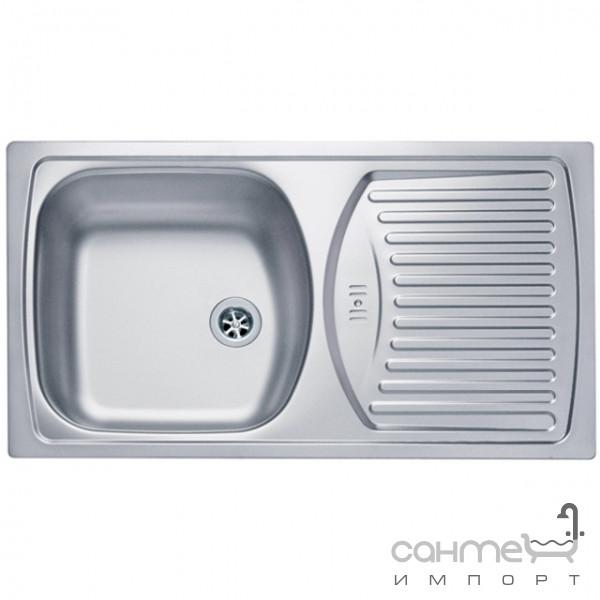 Кухонные мойки Alveus Мойка нержавеющая Alveus Basic 150 (декор) 1037868 LEI
