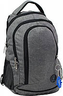 Легкий прогулочный рюкзак 19 л. Bagland Бис Меланж, 0055669-g (Темно-серый)