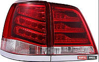 Toyota Land Cruiser LC 200 оптика светодиодная задняя красная LED