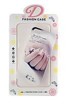 Пластиковый чехол для iphone 5/5s Ногти