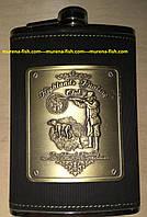 Фляга охотник 270 мл Hip Flask Hunting Club 9 OZ Stainless Steel
