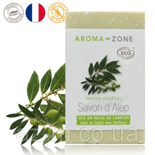 Мыло растительное Хлебное с 40% масла Лавра (Savon Alep), 150 г