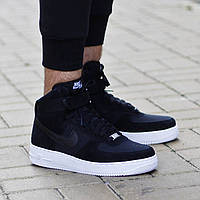 "Кроссовки Nike Air Force High ""Black/White"""