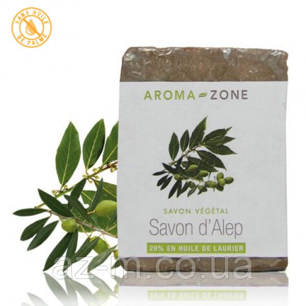 Мыло растительное Хлебное с 20% масла Лавровых ягод (Savon d'Alep 20%), 100 г
