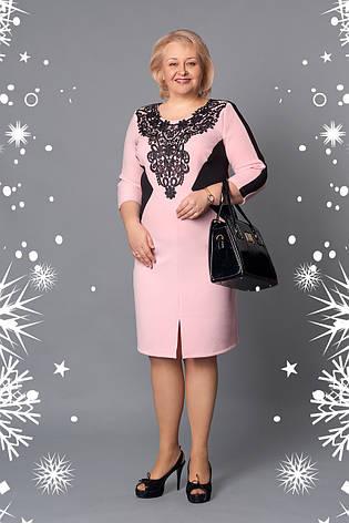 Элегантное платье с гипюром, фото 2
