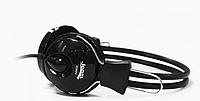 Наушники с микрофоном Jedal 808, универсальные проводные стерео наушники