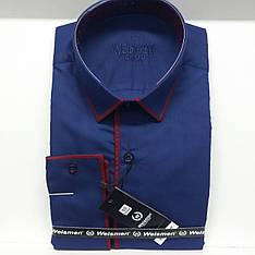 Однотонная мужская рубашка Weismen