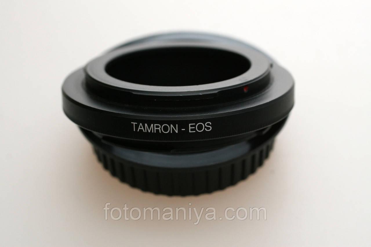 Кільце перехідне Tamron Adaptal II -Canon EOS (чіп)