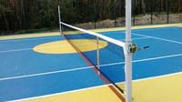Стойки универсальные со стаканами (теннис, волейбол, бадминтон)