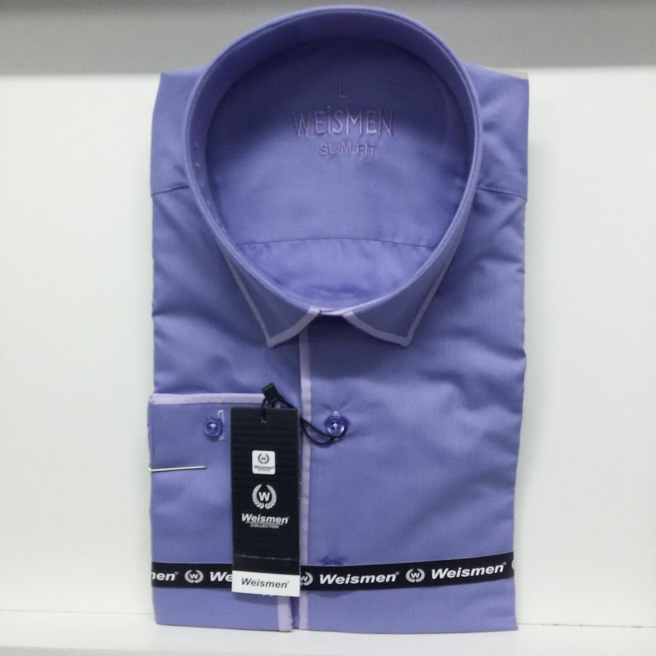Мужская рубашка с длинным рукавом Weismen