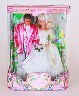 """Кукла Creation & Distribution Сюзи и Майк """"Счастливые молодожены"""", в кор. 34*24*10см"""