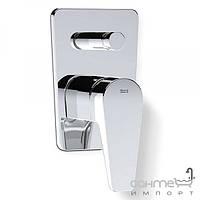 Смесители Roca Встраиваемый смеситель для ванны с автоматическим переключателем Roca Esmai A5A0631C00 Хром
