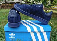 "Кроссовки Adidas Stan Smith ""Navy Blue"""