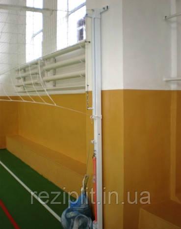 Стійки універсальні пристінні - волейбол, бадмінтон, теніс
