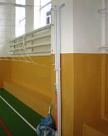 Стойки универсальные пристенные - волейбол, бадминтон, теннис